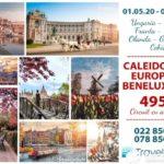 🇳🇱 🇧🇪 🇫🇷 🇩🇪 🇦🇹 🇭🇺 🇨🇿 💟 Европейский_Калейдоскоп #Benelux 2020 💟 📸 Экскурсионный тур — 7 городов за 495 Евро 💥