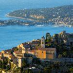 Курортный французский город Эз